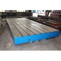 Buy cheap Cast Iron motor test plate with hole in center 1500x1500 from wholesalers