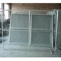 Chain link temporary fence panels of item