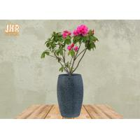 Wholesale Large Clay Plant Pots Garden Flower Pots Textured Gray Color Pot Planters Outdoor Pots from china suppliers