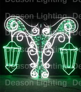 Wholesale decoracoon poste de luz navideña(christmas pole decoration) from china suppliers