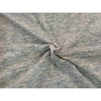 Wholesale Gray Drop Needle Interlock Knit Fabric With Wicking & Anti - Bacterial Finish from china suppliers