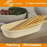 Wholesale Professional handmade 100% natural canne brotform  dough rising basket banneton, brotform from china suppliers
