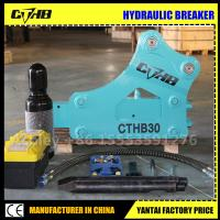 Wholesale 750 korea hydraulic breaker soosan SB43 hydraulic breaker Nice soosan korea SB81 Top Type hydraulic rock breaker from china suppliers