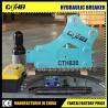 Buy cheap 750 korea hydraulic breaker soosan SB43 hydraulic breaker Nice soosan korea SB81 from wholesalers