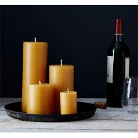 Wholesale Wholesale Organic Beeswax Pillar Candles from china suppliers