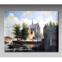Top quality landscape paintings/Handmade oil painting makers