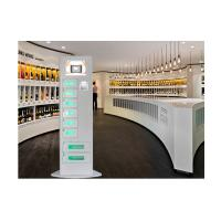 Wholesale Slim Design Cell Phone Charging Stations Kiosk Quick Charge with Advertising Screen from china suppliers