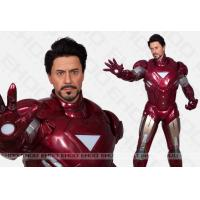 superman Sculpture Celebrity Wax Statues Of  ironman For cinema decoration