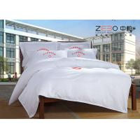 Wholesale 180 -200 Thread Count Hotel Collection Bed Sheets White Plain Style from china suppliers
