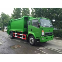 Wholesale SINOTRUK HOWO 4*2 Compacted 12m3 Garbage Compactor Truck from china suppliers