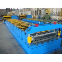 Wholesale touch screen Manual / Hydraulic decoiler Corrugated Sheet Roll Forming Machine from china suppliers