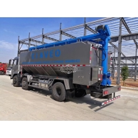 Wholesale Dongfeng Customized 11m3 Hydraulic Bulk Chicken Feed Pellet Transported Truck from china suppliers