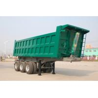 Wholesale 40 cbm Hydraulic Cylinder Rear Dump Semi Trailer 3 Axles 30 ton 60 ton from china suppliers
