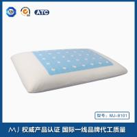 Kind size Traditional Shape Memory Foam Pillow with gel and air circulate channels