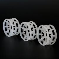 Wholesale Size 25MM 50MM 76MM PP Random Packing Plastic Beta Ring /Plastic Tower Packing from china suppliers