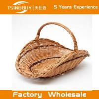 Wholesale Factory wholesale high quality 100% nature handcraft cheap picnic basket decoration rattan wicker bread baskets from china suppliers