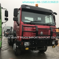 Wholesale SINOTRUK Howo Full Wheel Drive 6x6 Trucks Tractor For Muddy Road from china suppliers