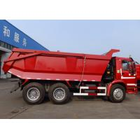 Quality HOWO 6x4 Tipper Truck With 371 HP Engine And 19cbm Rear Hydraulic Box for sale