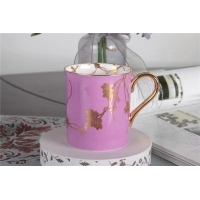 Buy cheap Hot Cold Drinks Sustainable 400cc Fine Porcelain Couple Coffee Mugs from wholesalers