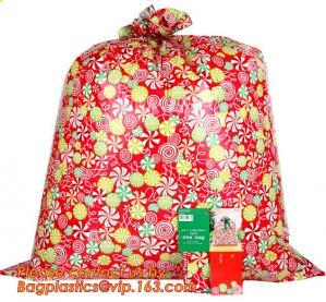 China HDPE/LDPE plastic gift bag, fashion PE BIKE GIFT BAG FOR CHRISTMAS, christmas luxury gift bag wholesale
