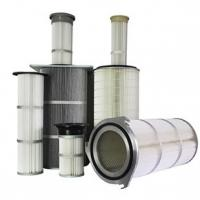 Quality Dust Collector Industrial Air Filter Cartridge Waterproofing Finishing Treatment for sale