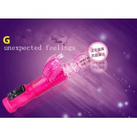 pleasure stretch spining bead vibrator for female