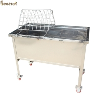 Wholesale Stainless Steel Beehive Frame Shelf Beekeeping Equipments hot sale our clients Honey comb frame shelf from china suppliers
