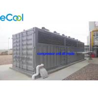 Wholesale CO2 Refrigeration Station Freezer Condensing Unit / Machine Room Free Cascade Compressor Unit from china suppliers
