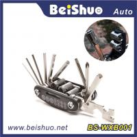 Wholesale 16 in 1 Hot Selling Bicycle Repair Tool Set with Multifunction muti-tool from china suppliers