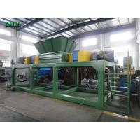 Wholesale Automatic Single Shaft Shredder , Plastic Recycling Shredder PLC Control System from china suppliers