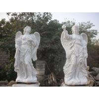 Wholesale Garden Deco Life size Four angel marble statues,china marble sculpture supplier from china suppliers