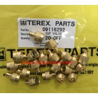 Wholesale 09116292 CUP VALVE OF TEREX NHL SANY TR35A 3303 3305 3307 TR50 TR60 TR100 NTE240 NTE260 MT3600 MT3700 MT4400AC from china suppliers