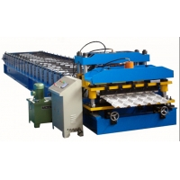 China 4m/Min 0.6mm Steel Sheet Roof Tile Forming Machine on sale