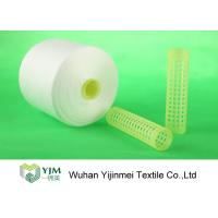 Buy cheap 100% Virgin Polyester Ring Spun Yarn / Dope Dyed Tube Yarn Crease Resistant from wholesalers