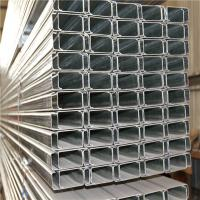Wholesale Hot Dip C Channel Galvanized Steel Roofing Purlin Cold Bend Easy Fabrication from china suppliers