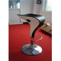 Unique Style Outdoor Plastic Bar Stools Backless PU Seat Spoon Shape