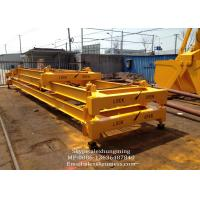 Wholesale Lifting Equipment Container Crane Spreader With Steel Wire Rope / Semi-automatic Type from china suppliers