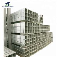 Buy cheap ERW Galvanised Square Hollow Section , Hot Dipped Galvanized Square Tubing from wholesalers