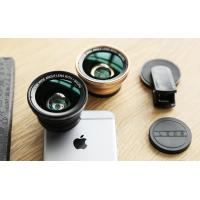 Fixed Focus Lens Super Wide Angle Phone Camera Lens Clip For IPhone Android