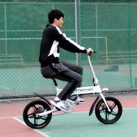 Wholesale Center Shock Absorbed Electric Folding Bike Lightweight , Fold Up Bicycle 250W 16 Inch from china suppliers