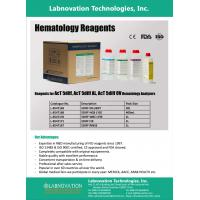 Hematology analyzer reagents for Beckman coulter analyzer