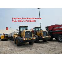 Buy cheap Weichai Engine XCMG Wheel Loader , Loading 3m3 5000kgs Bucket Volume from wholesalers