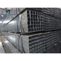 Wholesale Zinc Coated Carbon Steel Galvanized Square Pipe 3 Inch Professional Pre Treatments from china suppliers