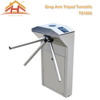 Wholesale Biometric Drop Arm Tripod Turnstile Gate RFID Reader And SUS304 Stainless Steel from china suppliers
