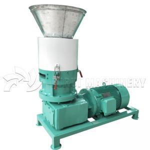 China Wood Chips Diesel Pellet Machine / Wood Pellet Manufacturing Equipment on sale