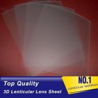 Wholesale 161 Lpi 51X71CM Lenticular Lens Film 0.25mm PET 3D Sheet Lenticular Lenses material for 3d lenticular printing service from china suppliers