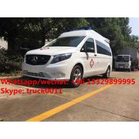 China 2017s new BENZ VITO gasoline engine transporting ambulance vehicle for transporting for sale, Benz ambulance for sale on sale