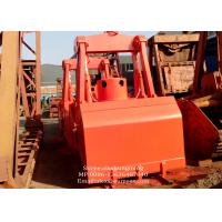 Wholesale Professional 15T 4CBM Motor Electro Hydraulic Clamshell Grab  For Coal Loading from china suppliers