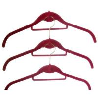 Wholesale Flocked Clothes Hangers (LD-S016) from china suppliers
