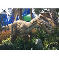 Wholesale Animatronic Dilophosaurus Realistic Dinosaur Statues For Jurassic Theme Park from china suppliers